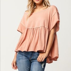 Free People Odysessy Tee Size Small